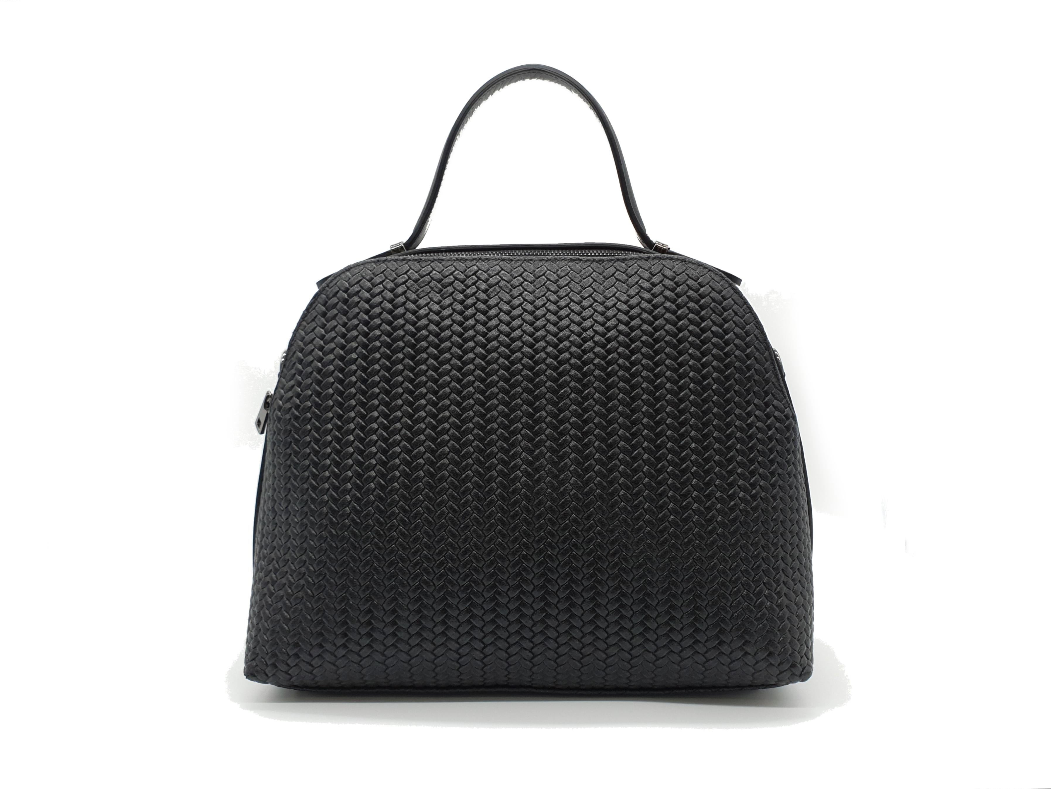 Kožená kabelka Bon 26 černá