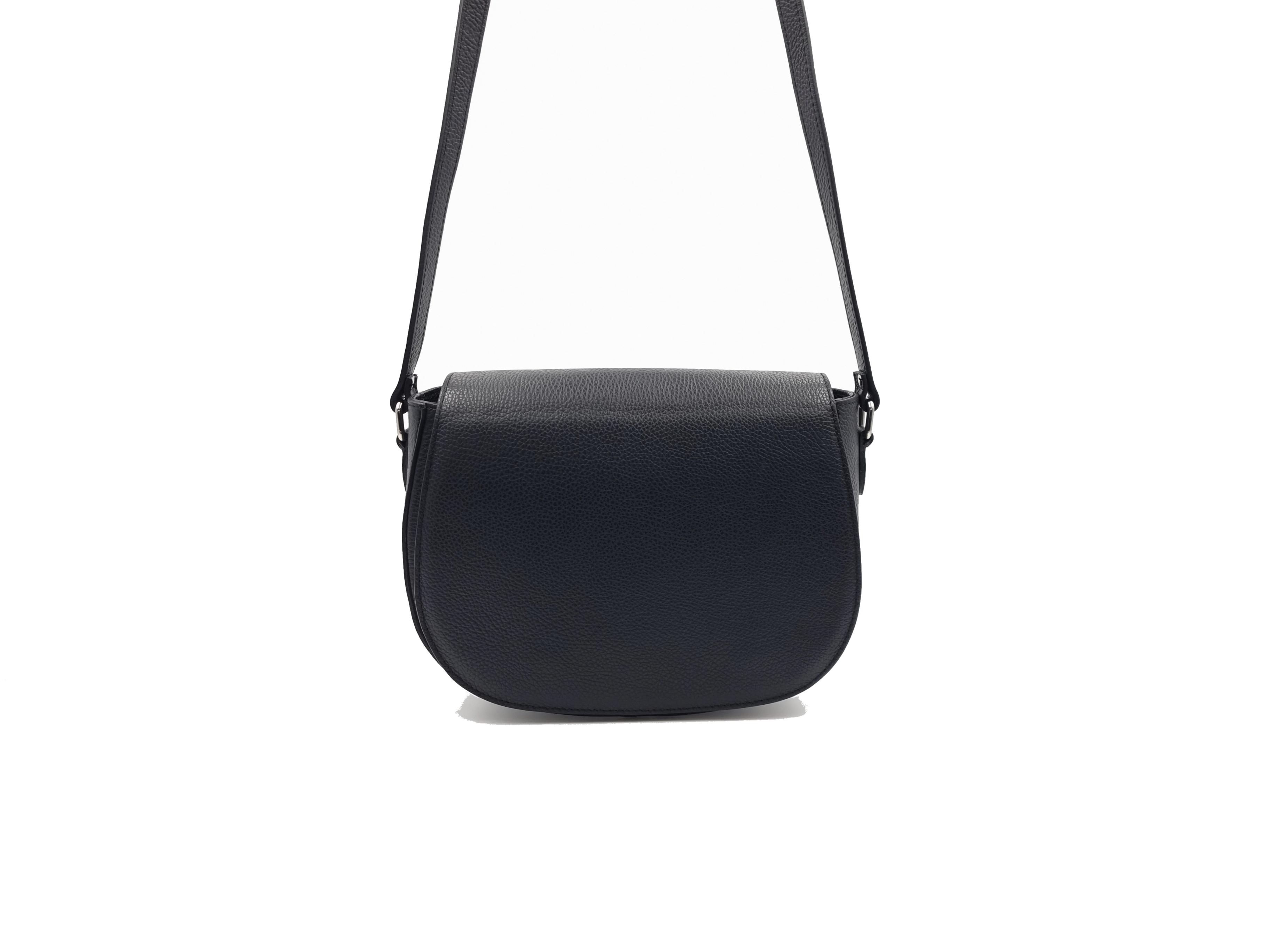 Kožená kabelka CH 1919 černá