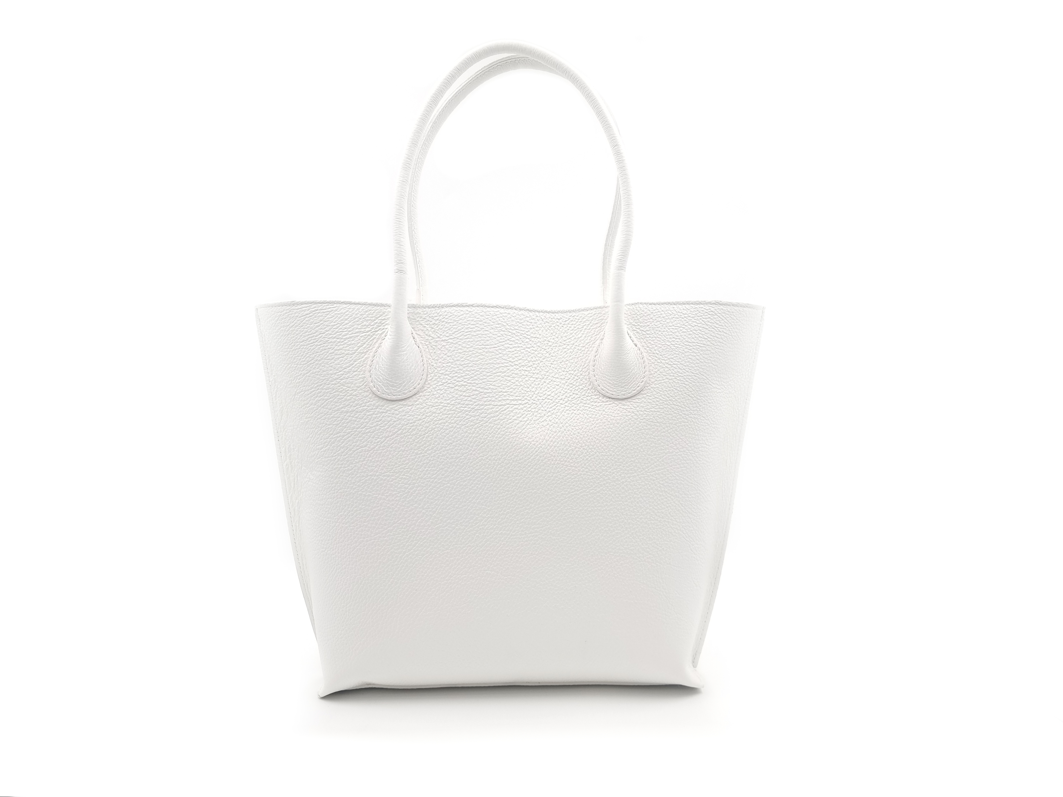 Kožená kabelka LOLO bílá