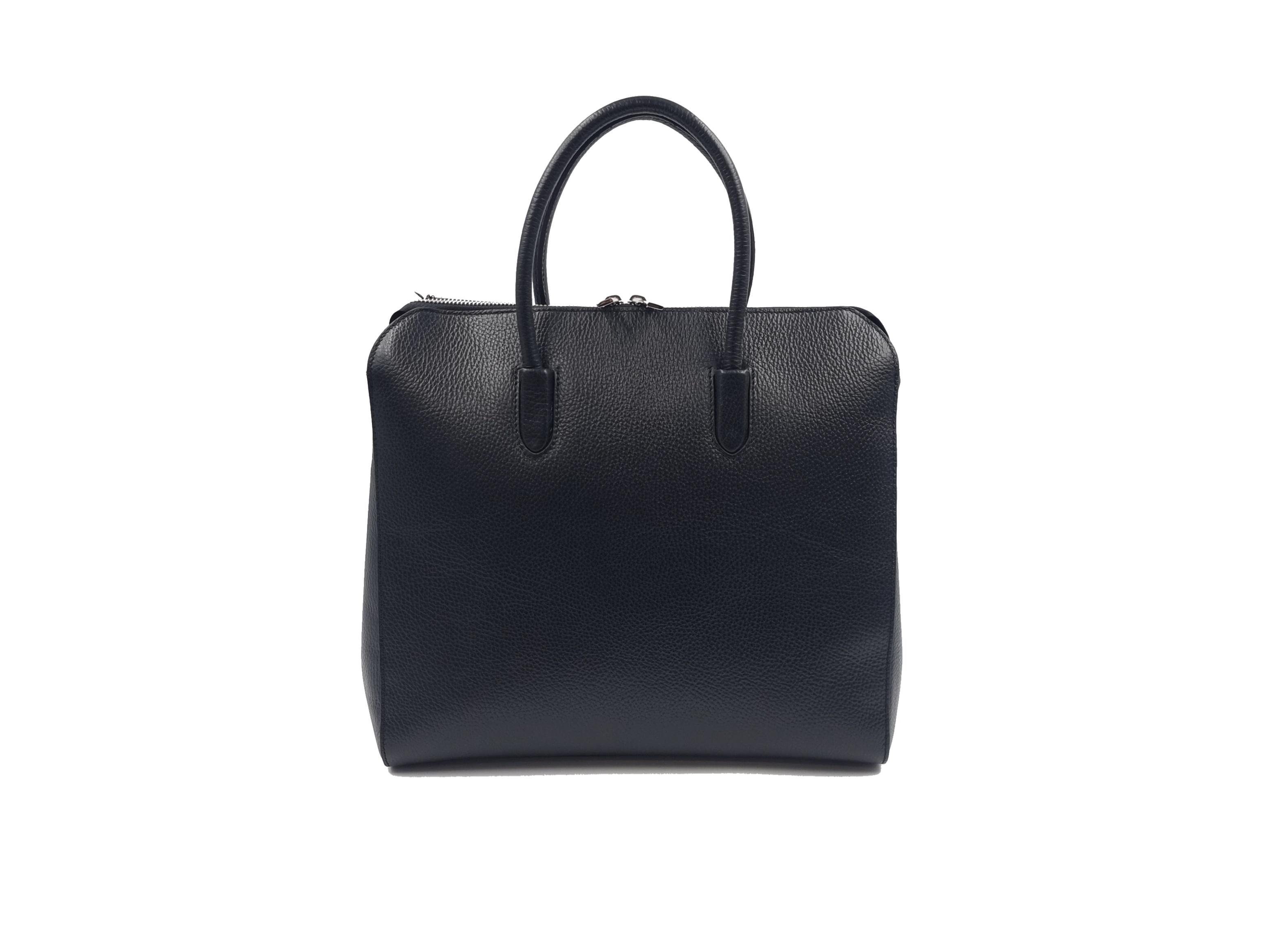 Kožená kabelka AND 28 černá