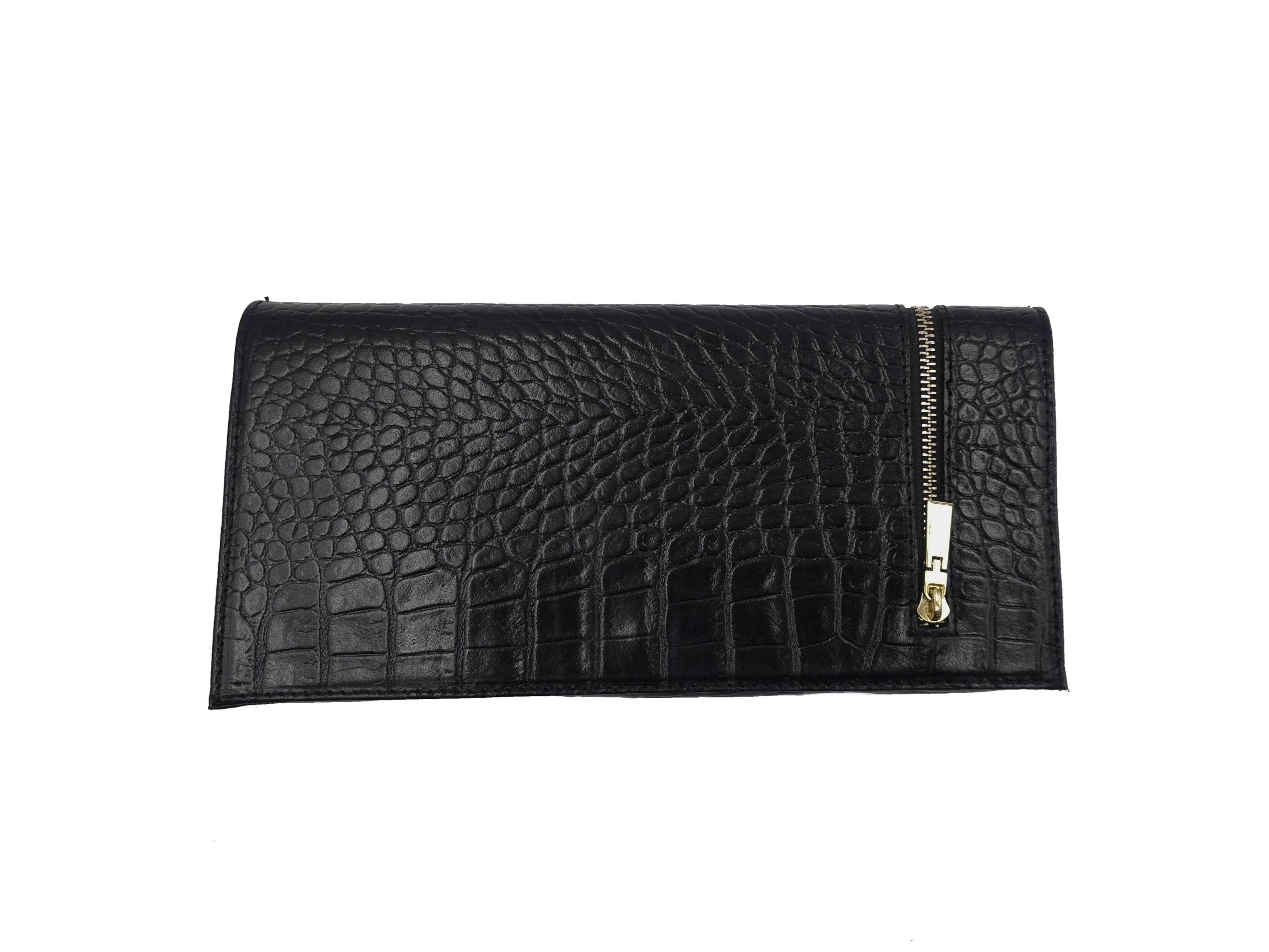 Kožená kabelka PSA 12 černá