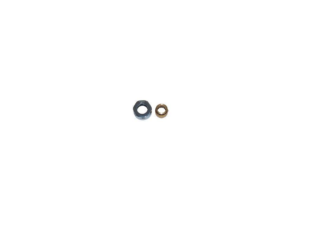 Svěrná spojka Cu 15x1 mm