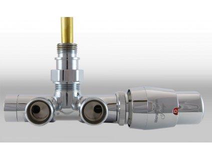 Termostatický ventil Unico, jednobodové připojení, 50 mm