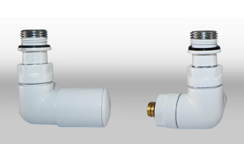 Vario Term Termostatický ventil Vision, klasické připojení Barva: Lesklý chrom, Provedení: Levé, Svěrné spojky: 2x CU 15x1 mm