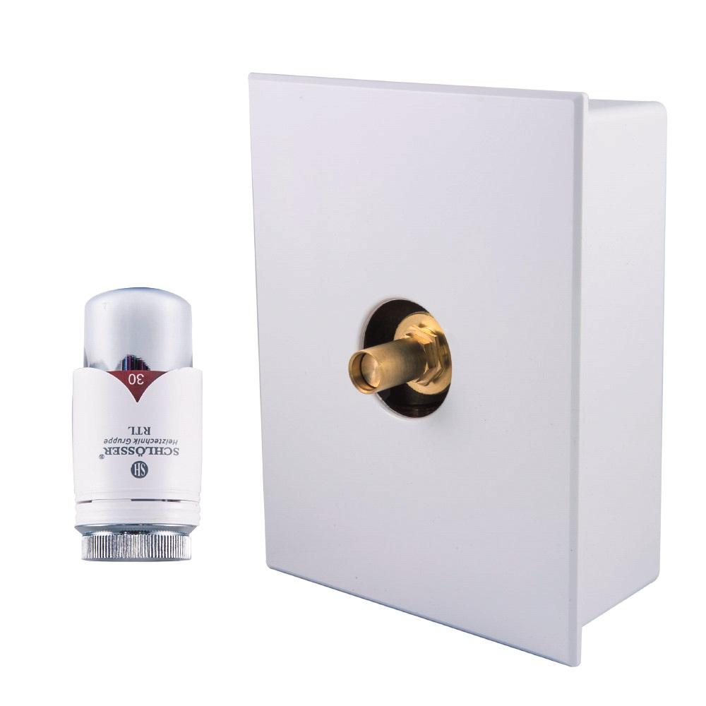 Schlösser Kombinovaný RTL box HS3 Barva: Bílá, Svěrné spojky: 2x PEX-AL-PEX 16x2 mm