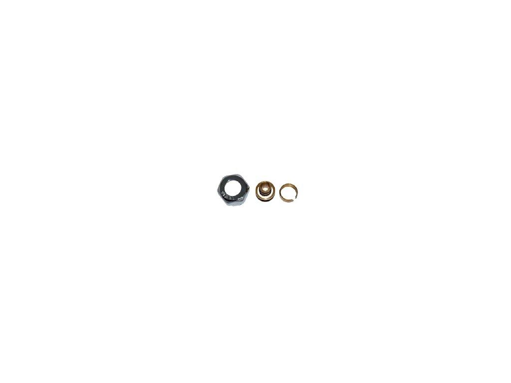 Svěrná spojka Pex-Al-Pex 16x2 mm Barva: Bílá