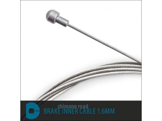 Brzdové lanko nerezové 1,5mm