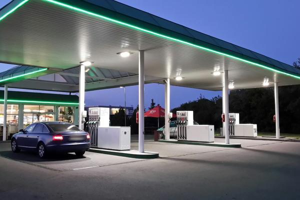 Čerpací stanice a benzínové pumpy