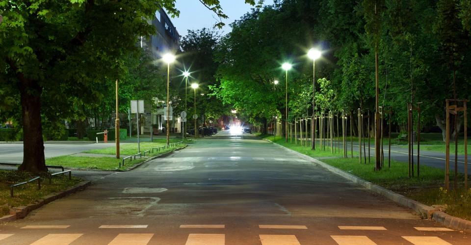 LED VO Veřejné osvětlení a úsporné Pouliční lampy