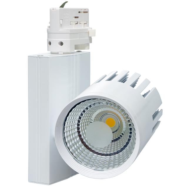 LED kolejnicová lištová svílidla