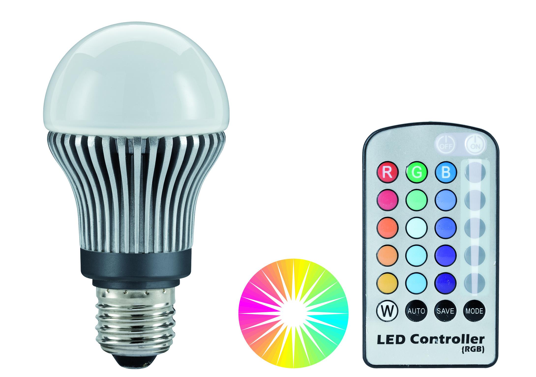 RGB LED  žárovky