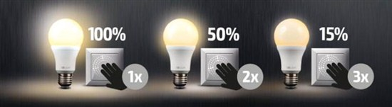 Stmívatelné LED žárovky