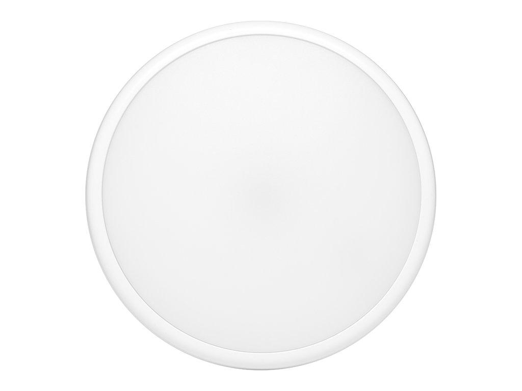LED svítidlo Ecolite MOVA 18W kruh bílý přisazený, krytí IP65, pro vnitřní i vnější prostředí, svítivost 1500 lm, 4 100 K