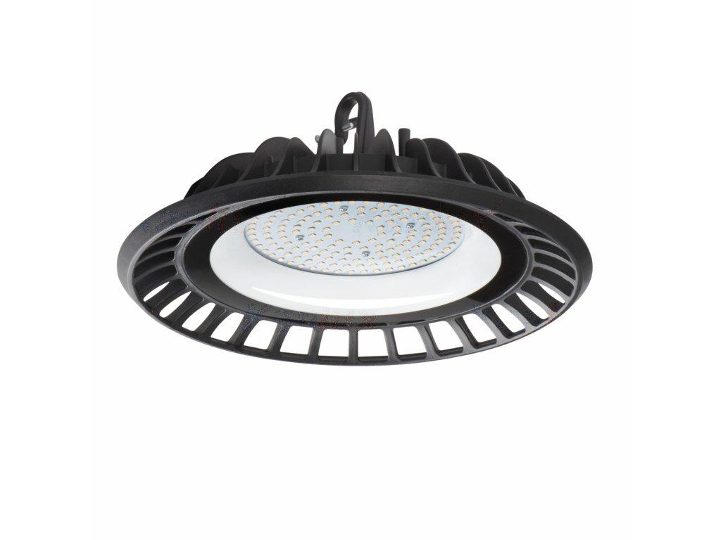 LED průmyslové svítidlo HighBay UFO 100W náhrada za sodíkovou výbojku 250W do výrobní haly skladu dílny servisu