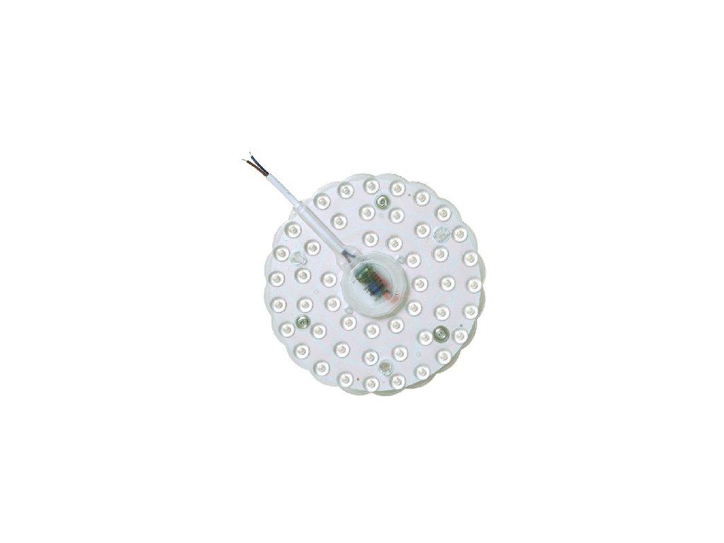 LED magnetický modul Ecolite SMD 20W 18cm kulatý kruhový úsporná náhrady žárovky do světla s kovovou základnou spodkem bez patice . TopLux Osvětlení Praha skladem vyzkoušené nízká dobrá cena foto