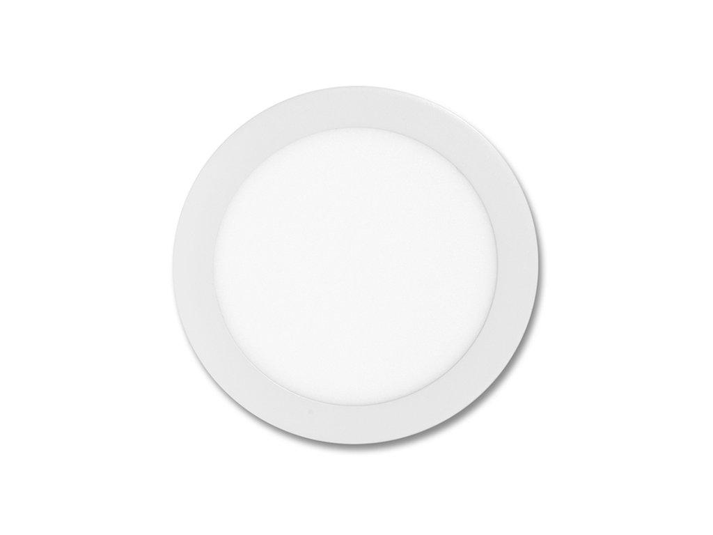 Bílý LED panel Ecolite LADA 12W kruh vestavný neutrální bílá LED-WSL-12W/4100. Na TopLux.cz skladem, ihned k odeslání