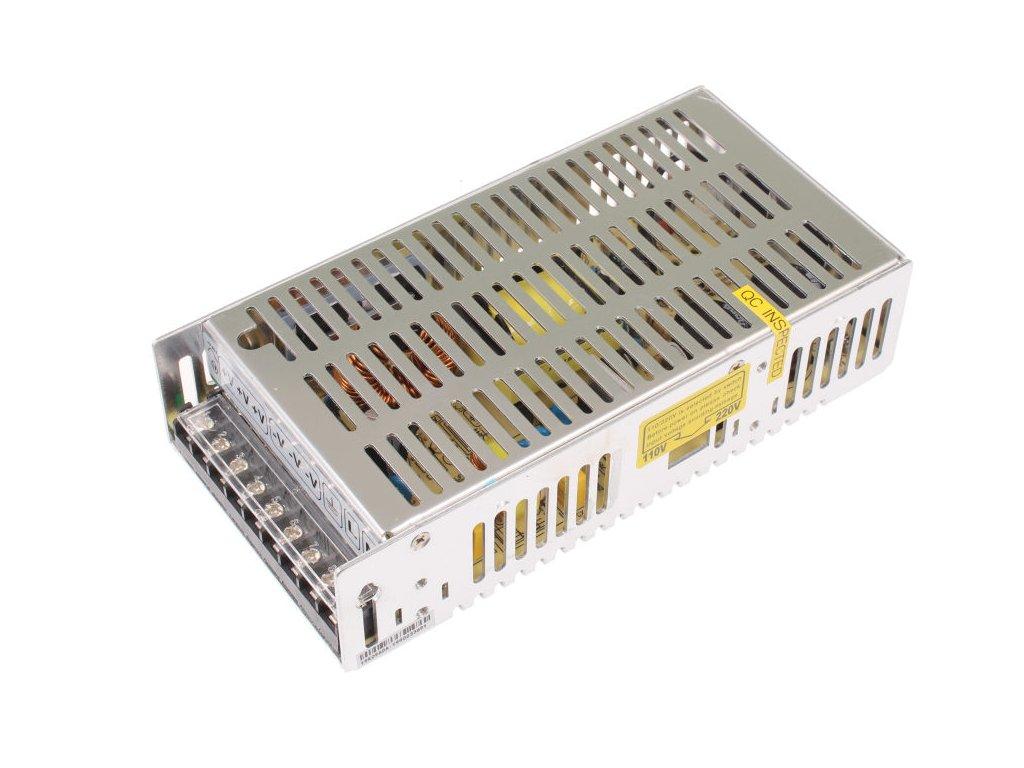 LED trafo zdroj 12V 240W vnitřní pro LED pásky stříbrné TopLux Osvětlení Praha skladem na prodejně nízká cena kvalita
