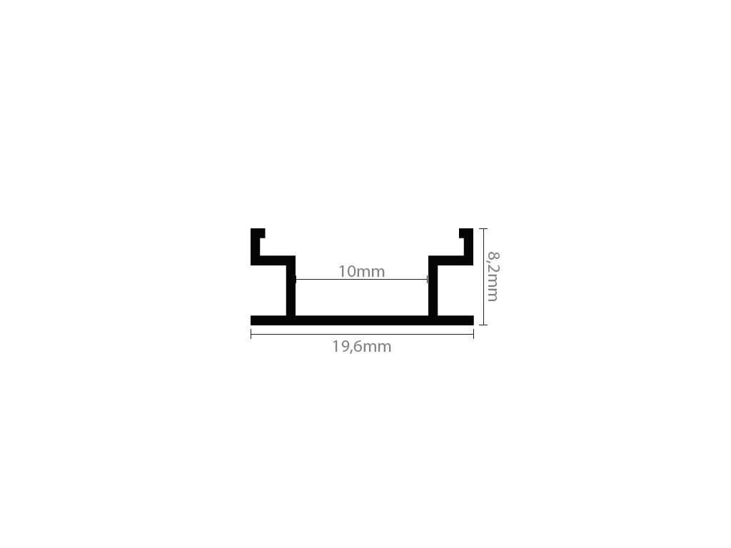 FLOOR podlahový hliníkový profil - pochozí chladící ALU vestavná lišta pro LED pásek Hliníkový profil FLOOR pochozí pro LED pásek Zátěžový podlahová lišta Rozměry pro zapuštění š/v 19,6 x 8,2 mm Vnitřní průměr 10 mm Cena za profil + difuzorLED profil (lišta) FLOOR pochozí pro LED pásky, s neeloxovanou úpravou. Tyto profily se nejvíce používají k montáži jako pochozí do dlažby, obkladů, sádrokarton a pod. Kryt profilu má klínovitý tvar, neboť je nutné ho přilepit (nejlépe akvaristickým transparentním lepidlem či kvalitním silikonem), čímž získáte i stupeň krytí až IP67 - lze použít do koupelen, obývacích pokojů, ložnic, průchozích chodeb a pod. Profil se prodává v délkách 1 metr a 2 metry. Tolerance délky profilu ±1%. Uvedená cena za hliníkový profil a kryt dle varianty. TopLux Osvětlení Praha, Sokolovská, Libeň - skladem na prodejně za nízké ceny, akce, slevy a nejlevnější zboží