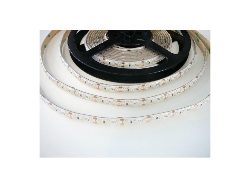 LED pásek 12V 9,6W zalitý IP50 odolný proti vodě dlouhá životnost vysoká kvalita a svítivost bez úbytků svítivosti TopLux Osvětlení Praha skladem na prodejně