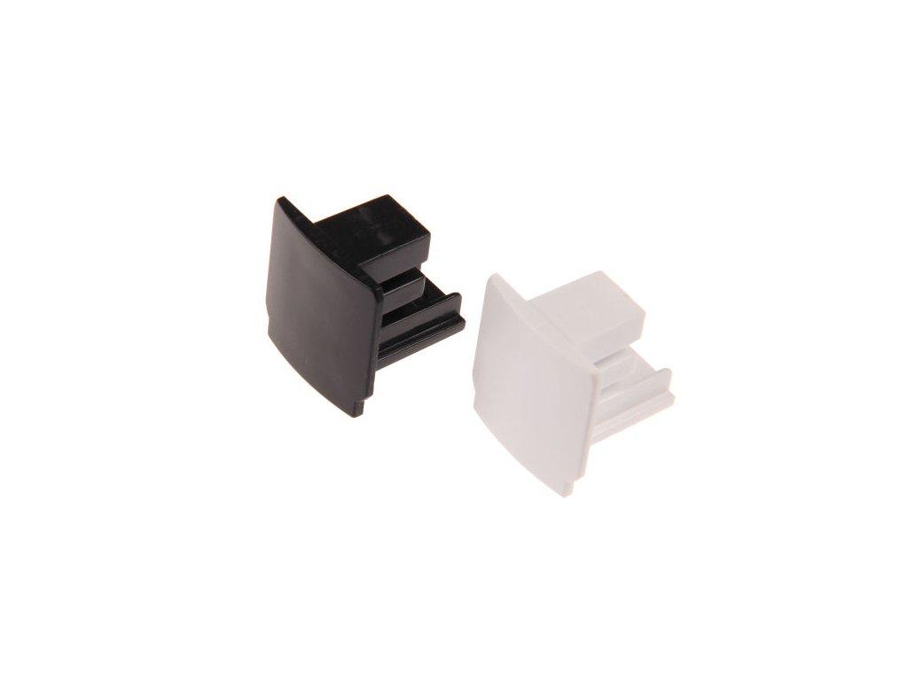 Třífázová koncovka pro TRACK LIGHT  Barva bílá, klasická záslepka  Standartní běžný rozměr a provedení