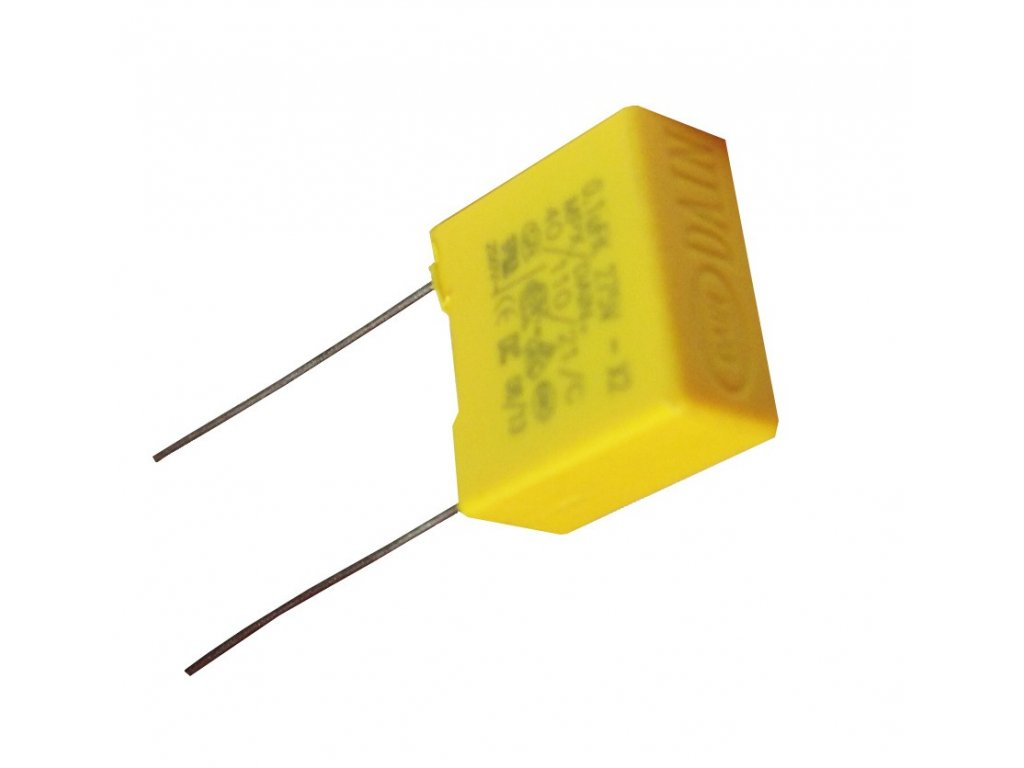Odrušovač blikání pro LED, vybíjecí kondenzátor