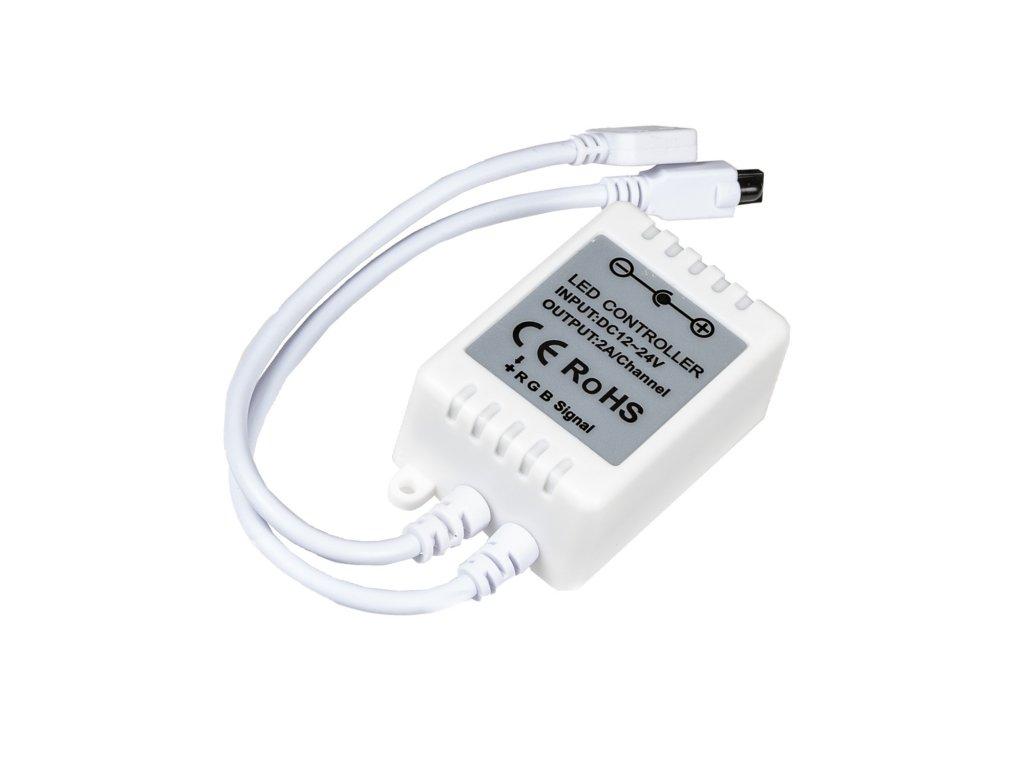 RGB LED ovladač pro LED barevné LED pásky. Osvětlení Praha TopLux skladem na prodejně.