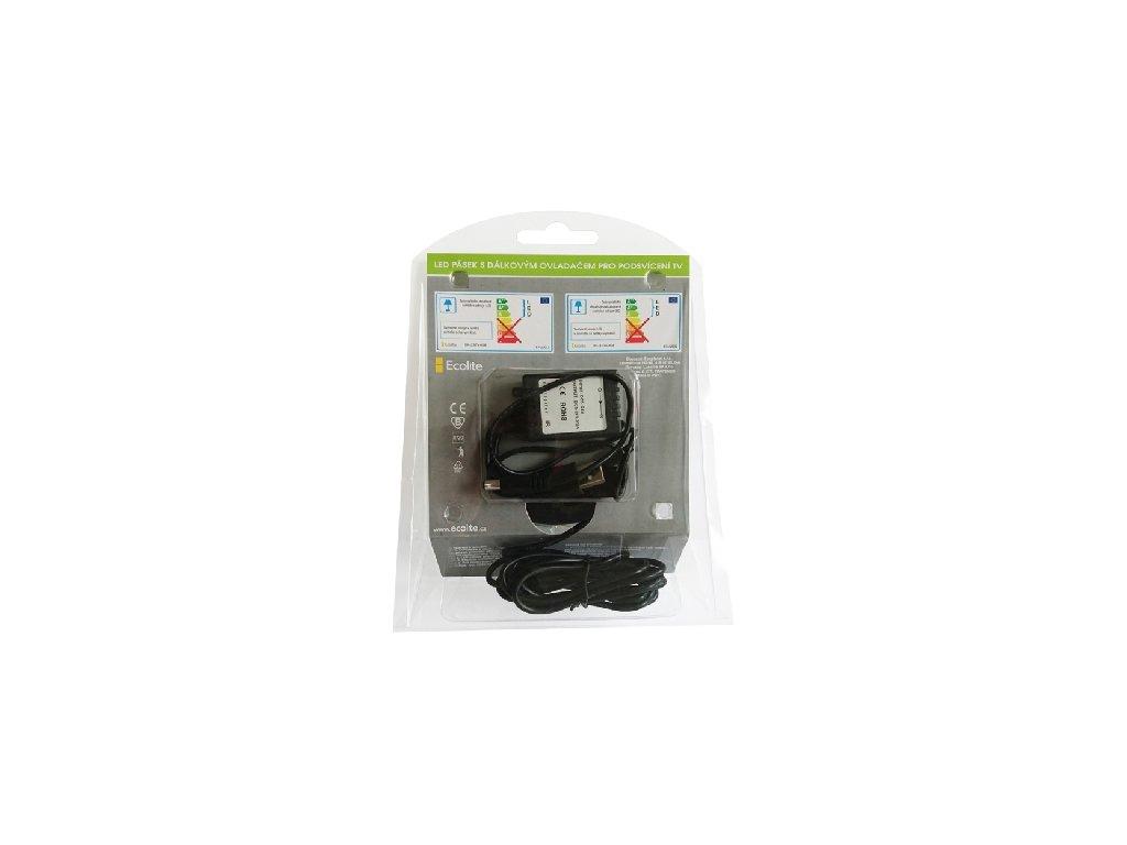 Balení Cena 590 Kč. RGB barevný LED pásek do USB TV. Obsah dodávky. Cena  590 Kč. 4b63f5cfce
