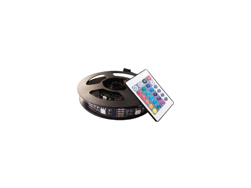 RGB barevný LED pásek do USB TV. Cena 590 Kč.