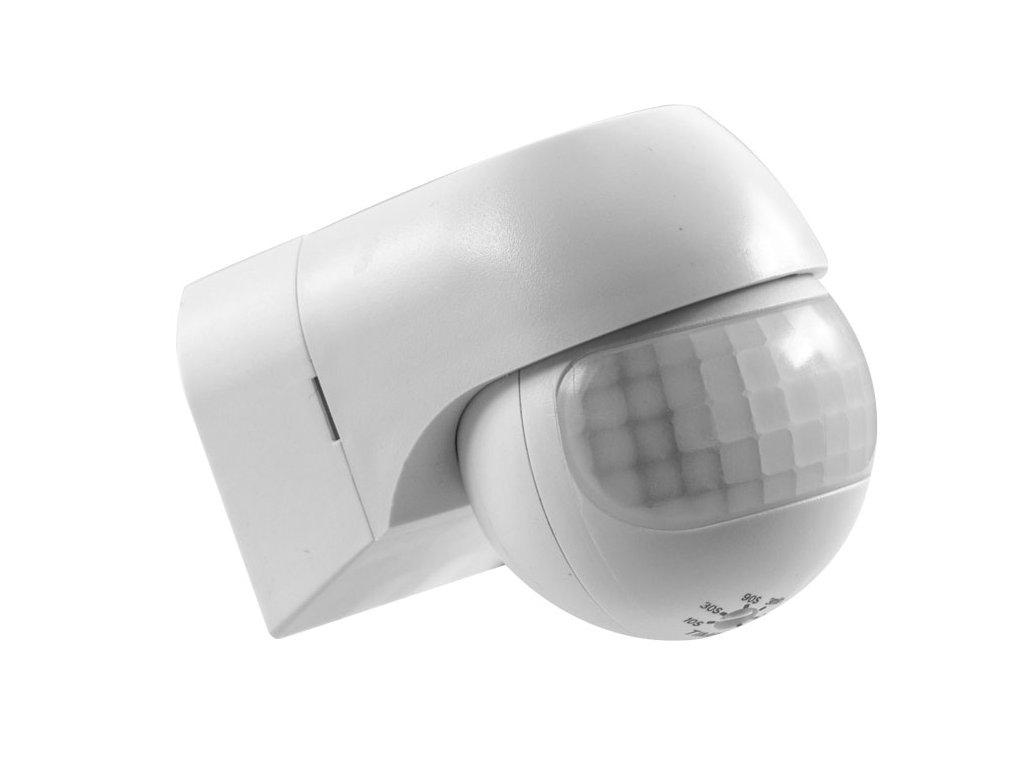 Pohybový senzor PIR IP44. Cena 349 Kč. Osvětlení Praha TopLux skladem na prodejně