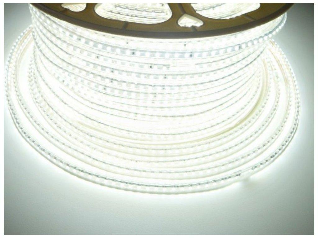 LED pásek 230V3-120LED-3528 7W 230V Studená bílá 07606 230V 7W/m IP 67 Počet diod 120