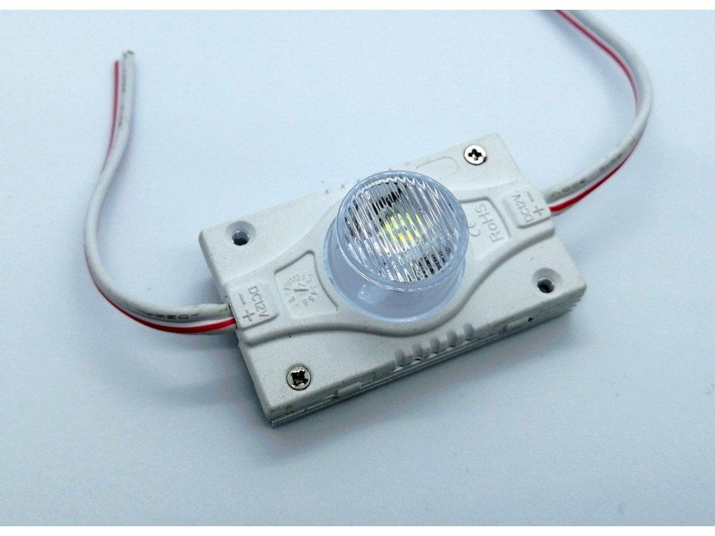 LED modul 3W PROFI pro nasvícení úzkých reklam s bočním svícením z rámu