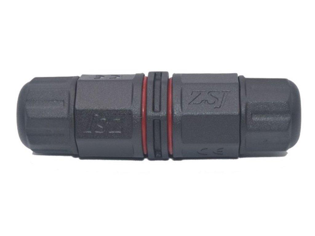 Kabelová venkovní spojka 3x2,5mm IP68 vodotěsná