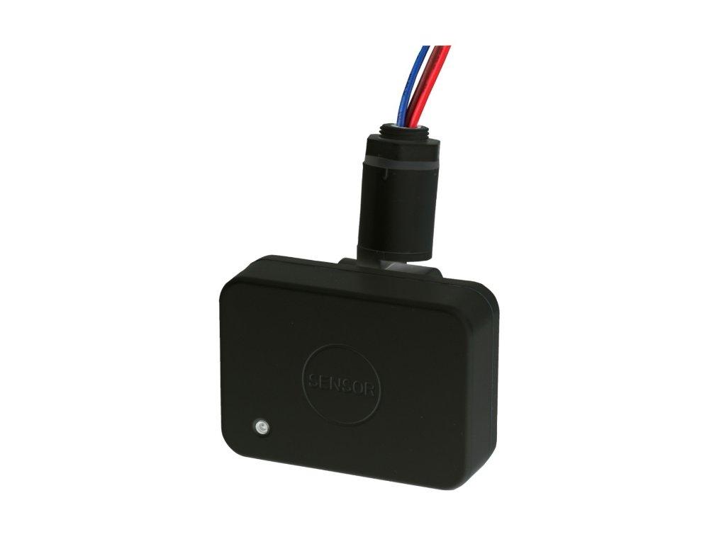 Pohybový senzor Greenlux HF 75 černý IP65 GXHF011 Čidlo pohybu (HF - radarové), Senzor 75B černý průmyslový IP65 venkovní, Mikrovlnný senzor na 230V, Pro LED osvětlení, Výklopné rameno na nasměrování, Regulovatelný čas, dosah, LUX, Dosah až 15 metrů Cena 159 Kč. TopLux Osvětlení Praha, Libeň- skladem na prodejně