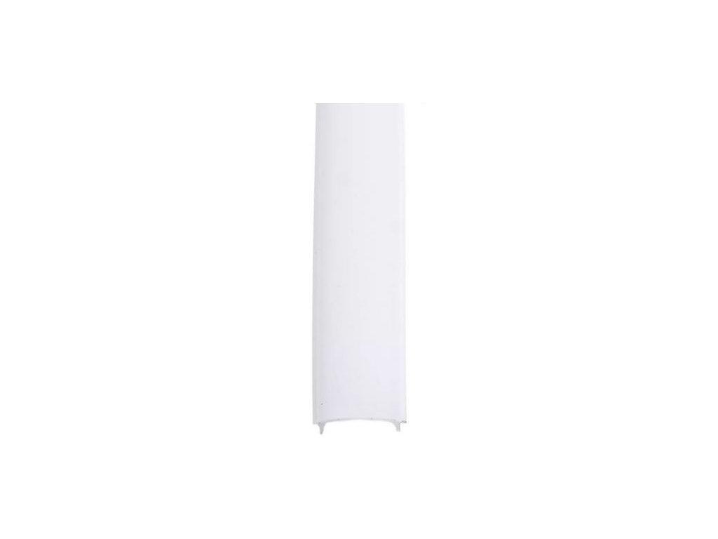 D2 difuzor ALU profilu, kryt hliníkové lišty mléčný opálový