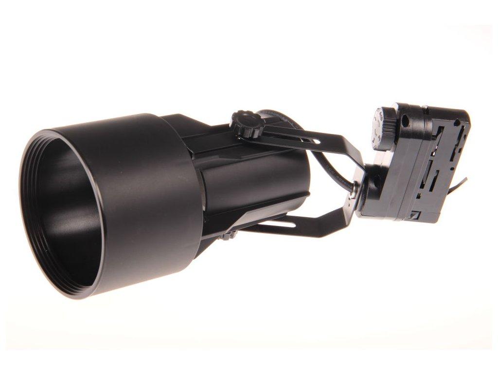 Třífázové lištové svítidlo JET-T TRACK LIGHT 3F - pro LED žárovku PAR30 E27 230V černé 105603