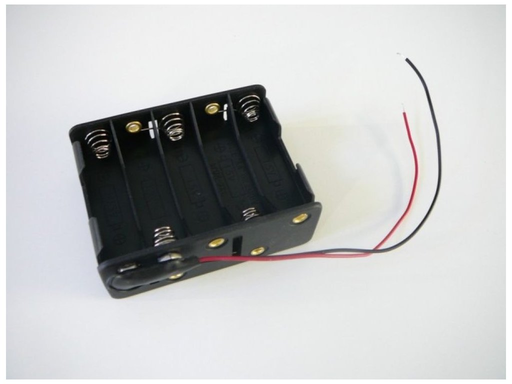 Napájecí zdroj na tužkové baterie pro 12V LED pásky bezdrátový přenosný napaječ