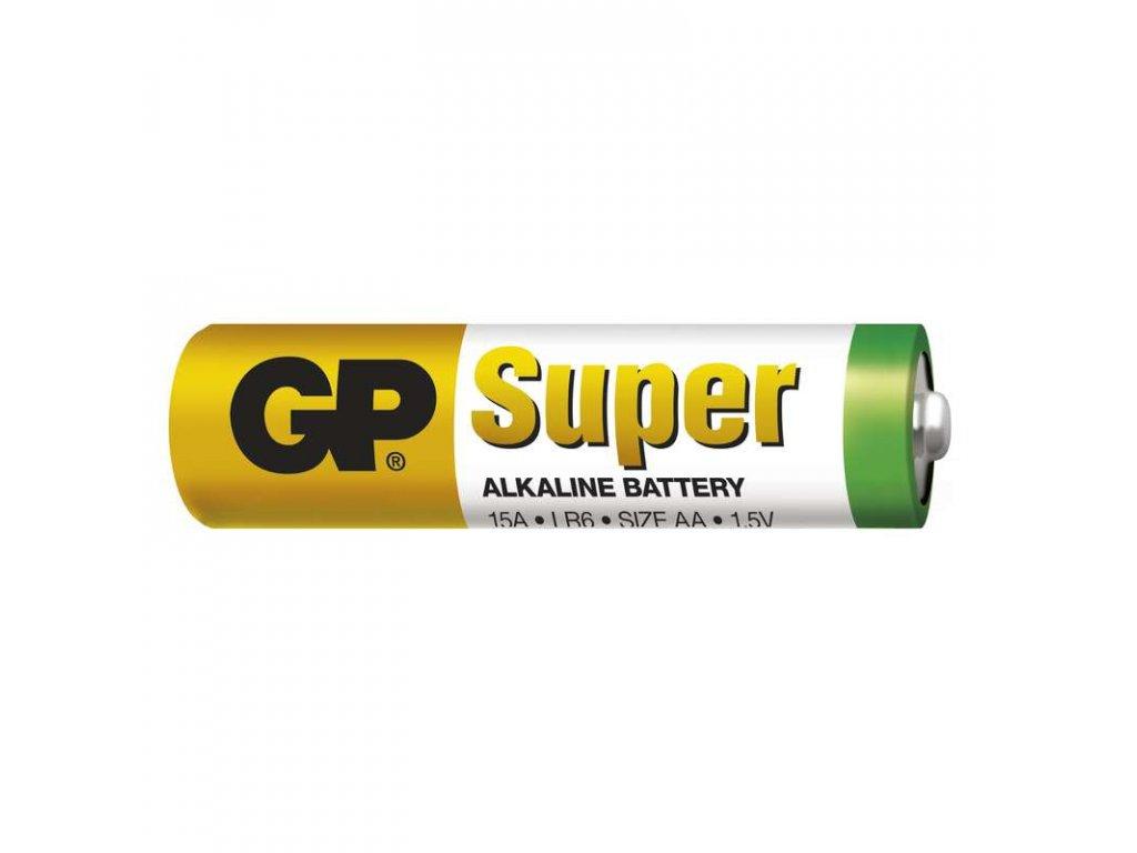 Tužková baterie LR6 (AA), rozměry14,5 × 50,5 mm, cena uvedena za kus, pro zařízení s malým dlouhodobým odběrem, napětí 1,5 V