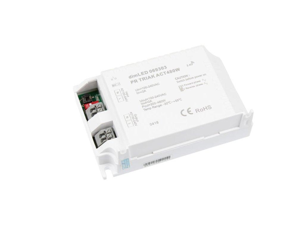 dimLED TRIAK PR ACT480W přijmač stmívač pro LED osvětlení 069303. TopLux Praha skladem
