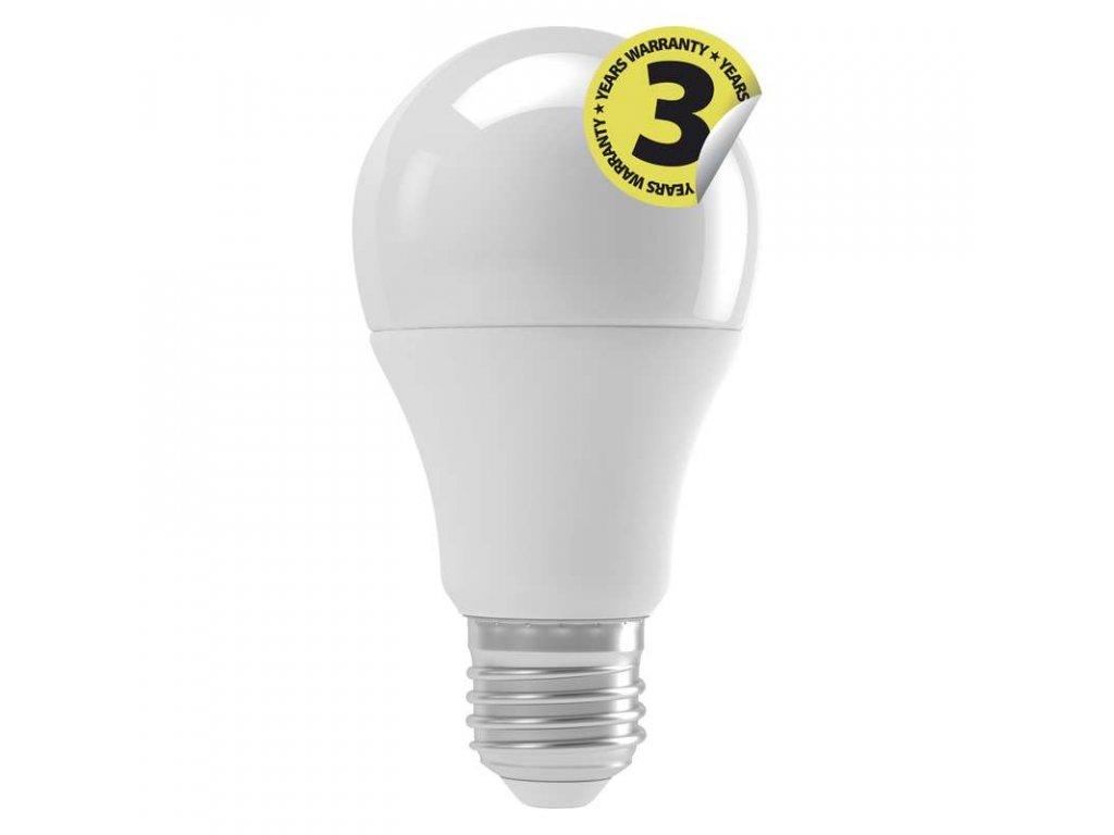 LED žárovka EMOS Classic A60 s velkým závitem E27 9W teplá 3000K/neutrální denní 4000K