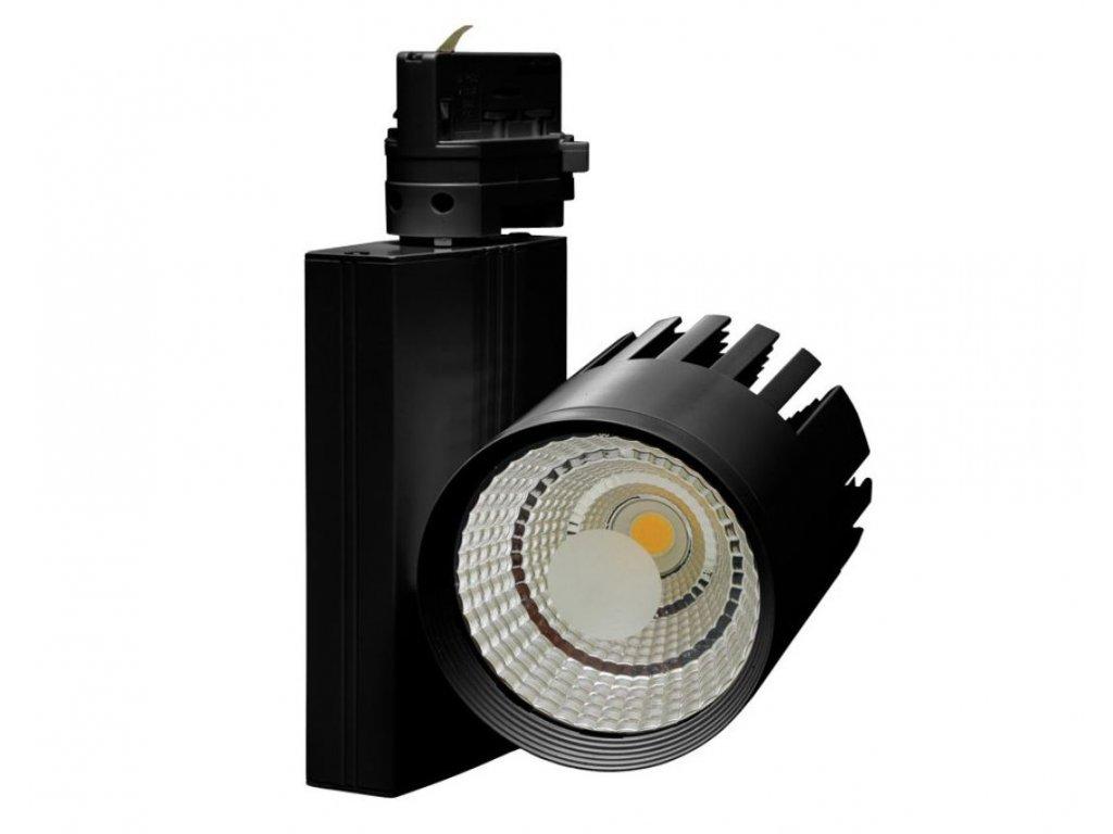 LED COB reflektor 30 W, svítivost 2 700 lm, úhel svitu 60°, barva světla 4 500 K, neutrální denní, náhrada za halogen 220 W, vnitřní