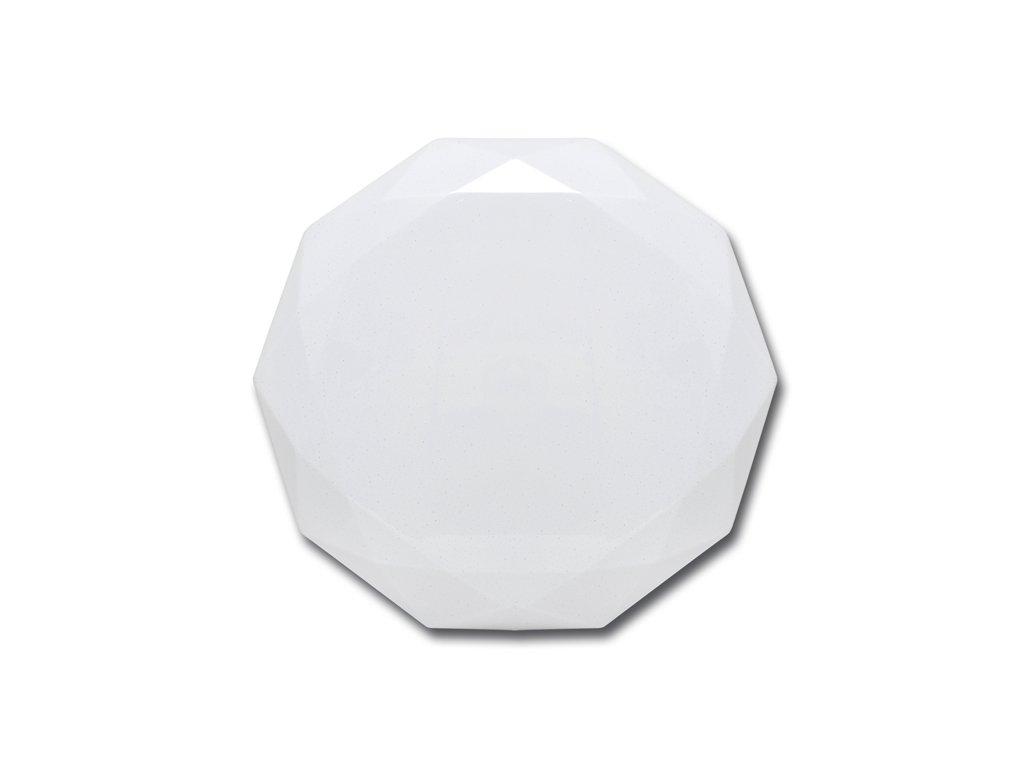 LED stropní svítidlo 24 W, krytí IP20 - vhodné do interiéru, barva světla bílá, teplota chromatičnosti 4 100 K, životnost 30 000 h, svítivost 1 860 lm, vysoce úsporná LED technologie,třpytivý efekt, náhrada žárovky 180 W
