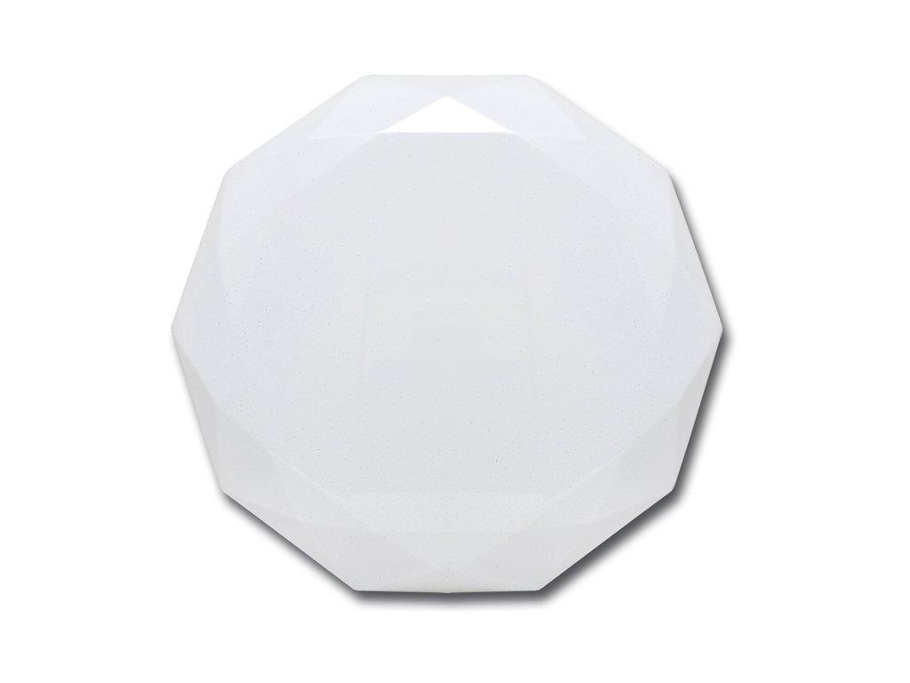 LED stropní svítidlo 36 W, krytí IP20 - vhodné do interiéru, barva světla bílá4 100 K, životnost 30 000 h, svítivost 2 800 lm, vysoce úsporná LED technologie,třpytivý efekt, náhrada žárovky 180 W