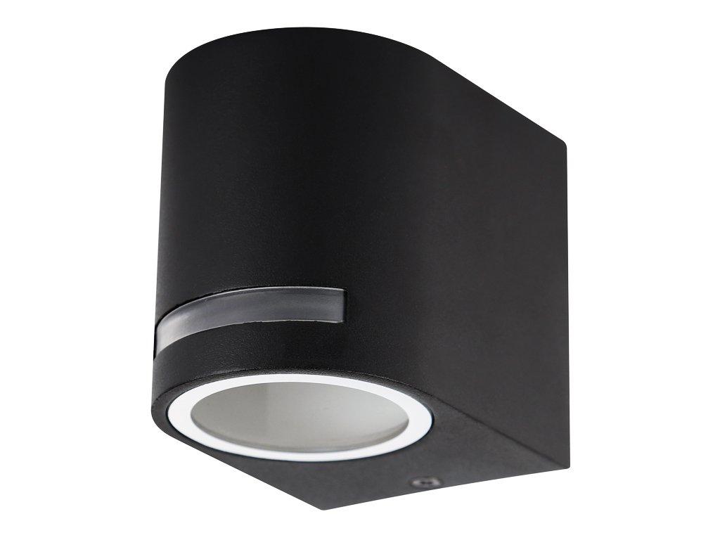 Fasádní svítidlo 11 W, krytí IP44 - vhodné do exteriéru, rozměry6,8(š) x 8(v) x 9,2(h) cm, patice GU10, vhodné do jakéhokoliv počasí, důmyslná konstrukce