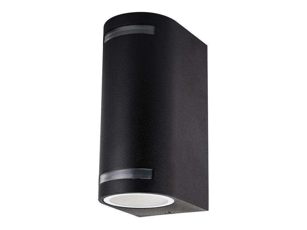 Fasádní svítidlo 2x11 W, krytí IP44 - vhodné do exteriéru, rozměry6,8(š) x 15(v) x 9,2(h) cm, patice 2xGU10, vhodné do jakéhokoliv počasí, důmyslná konstrukce