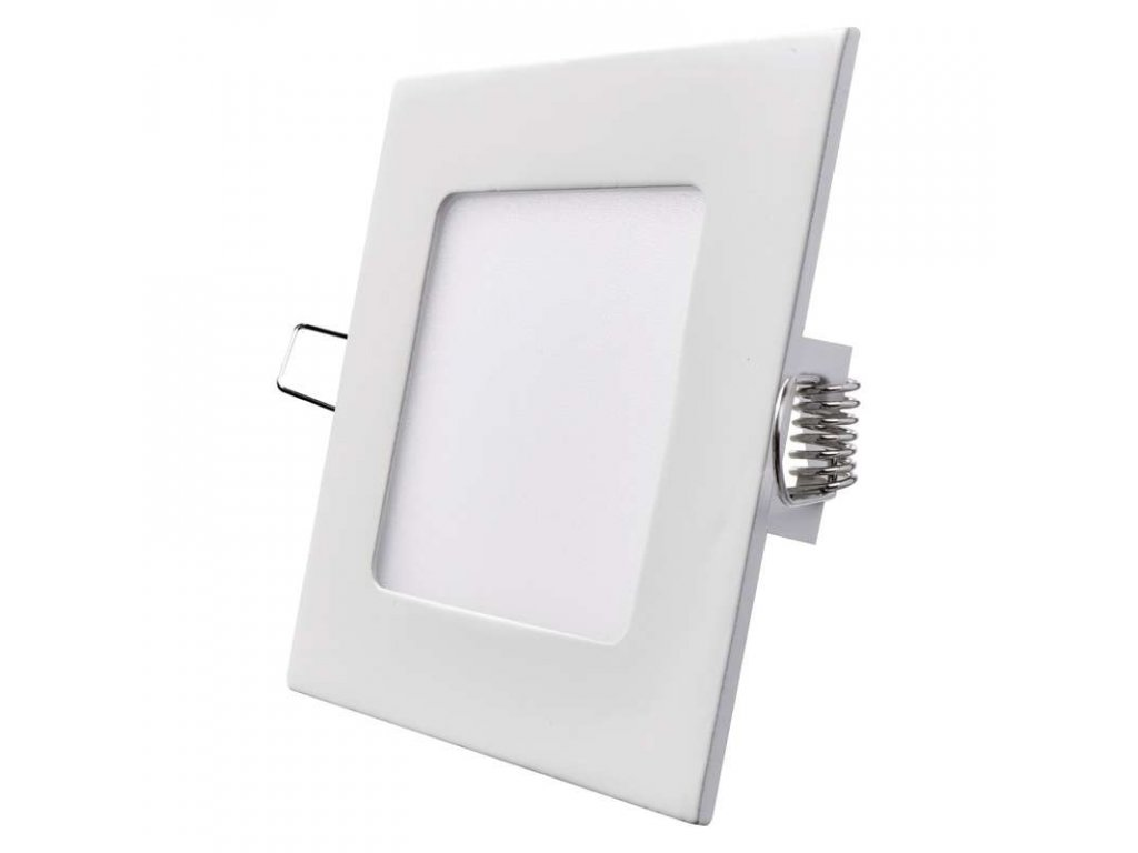 Bílý LED panel Emos VH 6W čtverec vestavný neutrální bílá ZD2122
