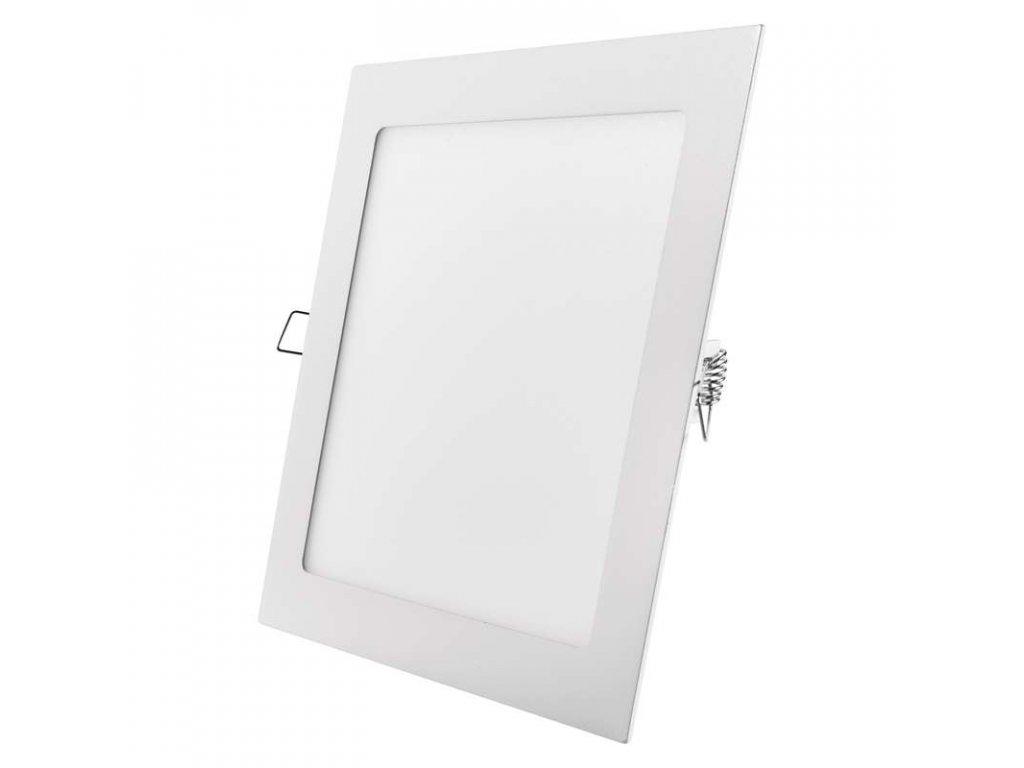 Bílý LED panel Emos VH 18W čtverec vestavný neutrální bílá ZD2142