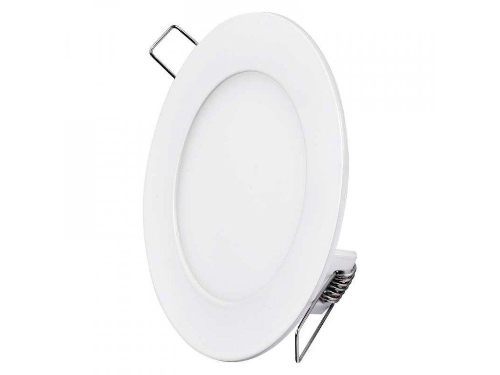 Bílý LED panel Emos VK 6W kruh vestavný neutrální bílá ZD1122
