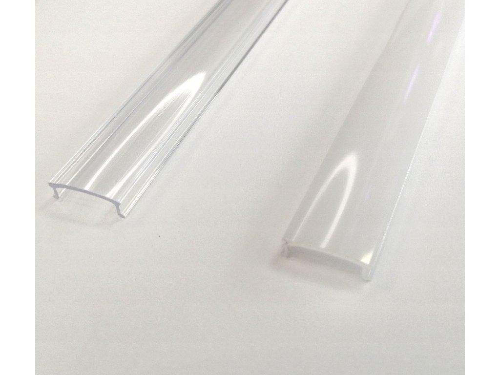 D1 difuzor ALU profilu, kryt hliníkové lišty mléčný opálový