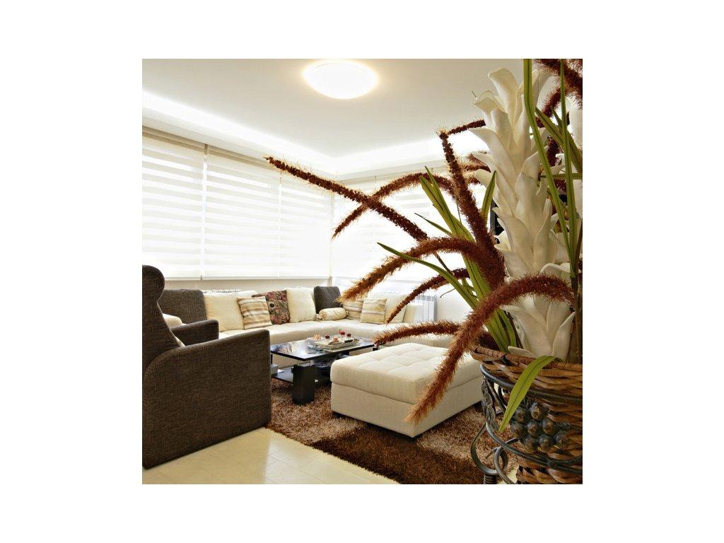 LED nástěnnéa stropní svítidlo 18 W, rozměry⌀ 29 x 10 cm, krytí IP44 - vhodné i do exteriérů, svítivost 1 480 lm,se senzorem a nouzovým modulem, vysoce úsporná LED technologie