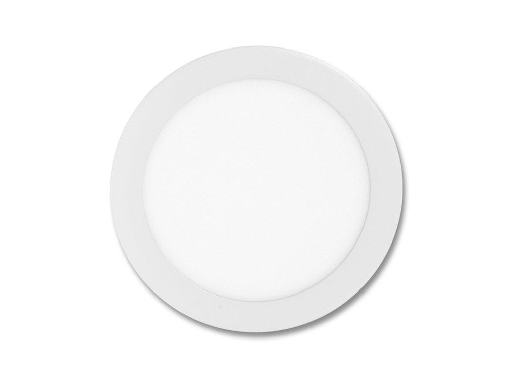 Bílý LED panel Ecolite LADA 18W kruh vestavný teplá bílá LED-WSL-18W/2700. Na TopLux.cz skladem, ihned k odeslání